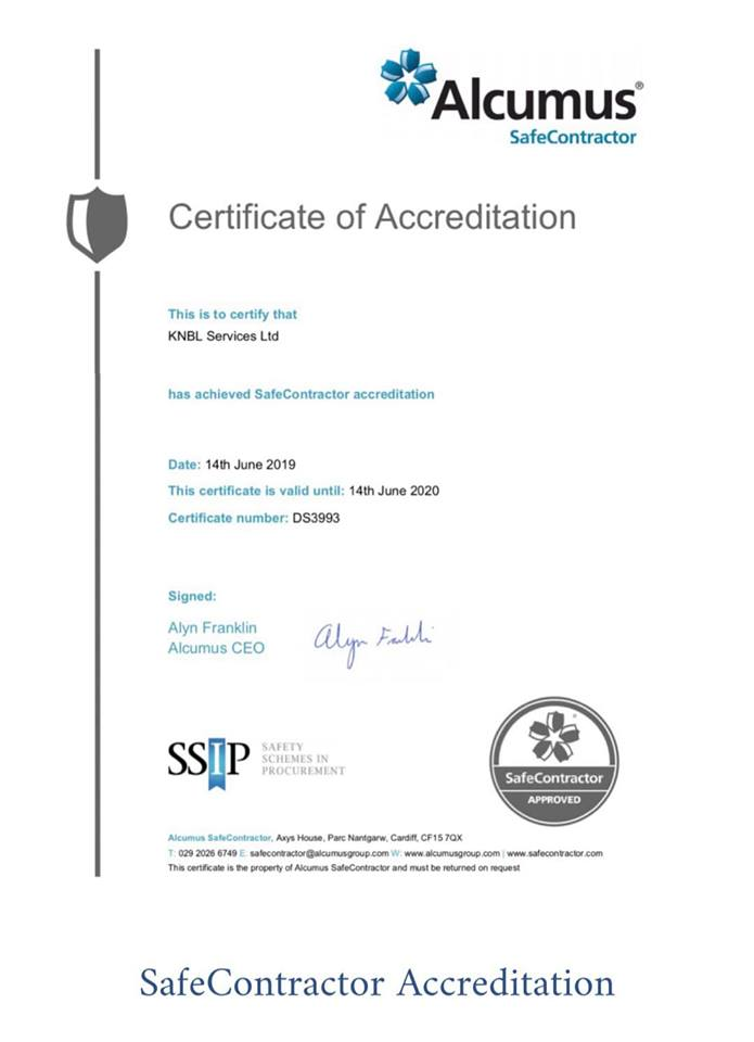 Safe Contractor Approved Glasgow