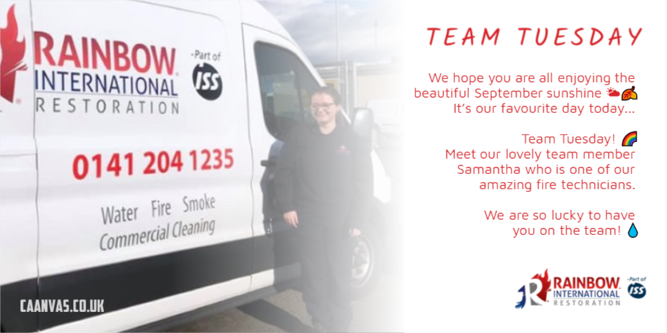 Team Tuesday | Specialist Cleaning Glasgow