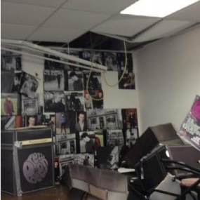 Damage to the False Ceiling
