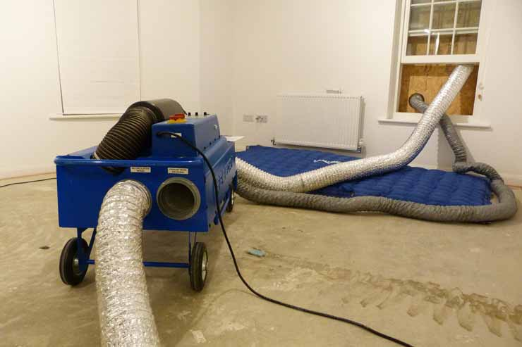 Drying Kit | Water Damage Gllasgow Scotland