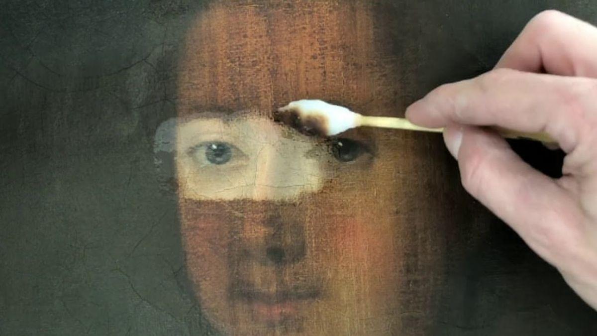 Fine Art Restoration Project in Glasgow